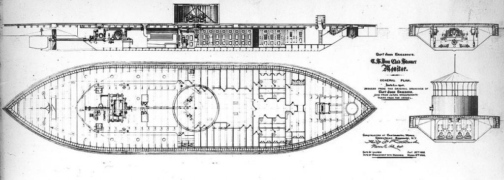 NH 50954 USS Monitor