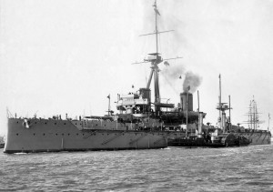 HMS Dreadnought. Naval History and Heritage Command, Photo Archives NH 61018.