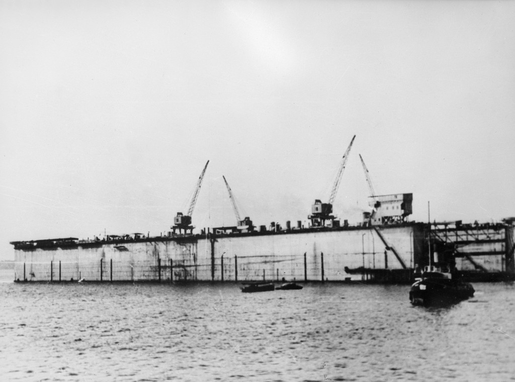 Admiralty IX Floating Dry Dock at Singapore, March 1941 (Image #6159, Courtesy Australian War Memorial)