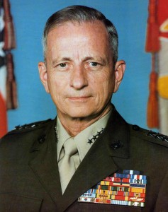 General Robert H. Barrow (USMC History Division)