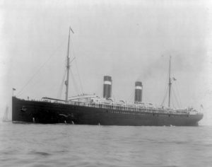 SS St. Louis seen off New York in 1900. (Public Domain)