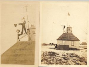 An example of Coastal Semaphore Stations.
