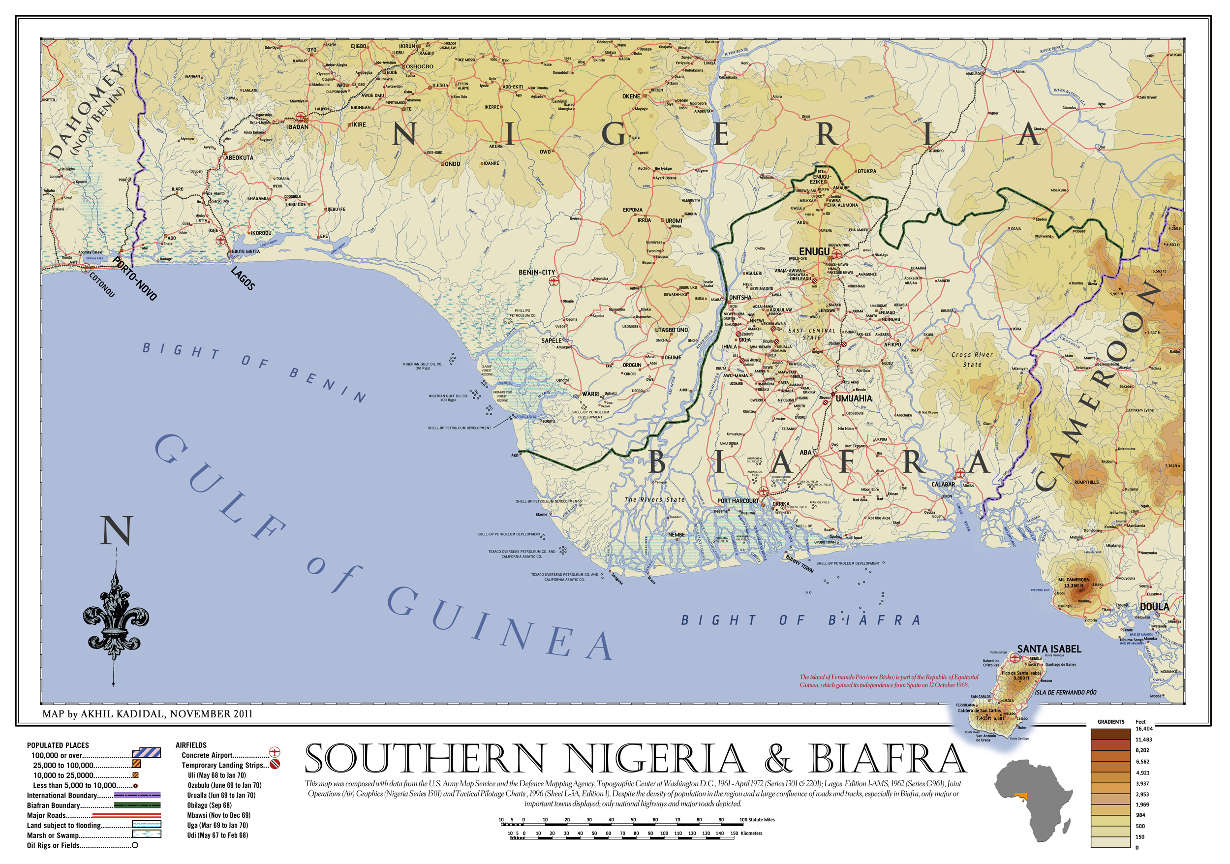 Nature and Impact of Involvement of the Navy in the Nigerian Civil